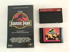 Sega Master System / Mega Genesis JURASSIC PARK Bundle: 2 Spiele + VHS