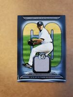 2011 Topps 60 Relics Mariano Rivera Jersey Relic Card #T60R-MRI New York Yankees