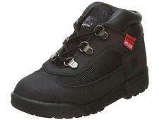 Timberland Field Boot Toddler Boys Wheat Black Helcor Leather Kids Boots 3381R