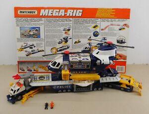 Matchbox MEGA RIG Mattel POLICE COMMAND CENTER Action Vehicle Auto Fahrzeug