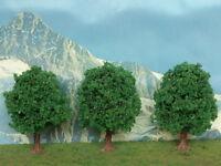 Albero di quercia per plastico o diorama 3 pz. H. cm. 9,5 HO - Krea Modellismo