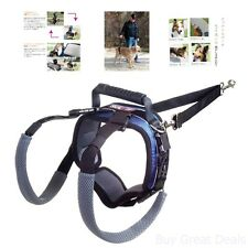 Large Dog Rear Lift Harness For Dysplasia Injuries Surgery And Older Dogs