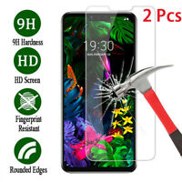 2X For LG K40 G6 G7 G8 ThinQ Stylo 4 9H Clear Screen Protector ​Tempered Glass