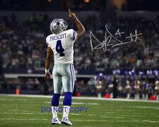 """Dak Prescott NFL Reprint SIGNED 11x14"""" Poster #3 RP the Dallas Cowboys QB #4"""