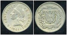 REPUBLIQUE DOMINICAINE 5 centavos  1961