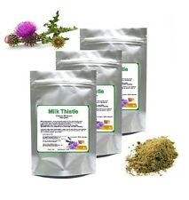 Ground Milk Thistle Seeds Powder Detox 100% Natural Silybum Marianum Ostropest
