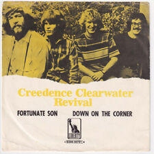 CREEDENCE CLEARWATER REVIVAL Fortunate Son SWEDEN 45 John Fogerty CCR swedish