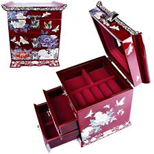 Jewelry Box Mother of Pearl Jewelry Organizer Jewelry Holder Craftsman 5030