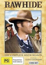 RAWHIDE - SEASON 6 - THE COMPLETE (CLINT EASTWOOD) (8 DVD SET) NEW!!! SEALED!!!