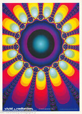 LOT OF 2 POSTERS : PSYCHEDELIC : VIVID - RADIATION   -  FREE SHIPPING !   RC41 P