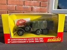Solido Dodge 6x6 U.S.M.D In Its Original Box - Mint Unopened  Army / Military 2
