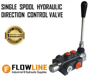 Hydraulic Directional Control Valve - SINGLE SPOOL - P140 -Log Splitters/tractor