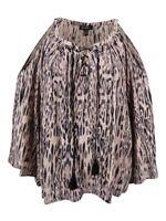 Jessica Simpson Women's Plus Size Printed Cold-Shoulder Peasant Top (2X, Jungle)