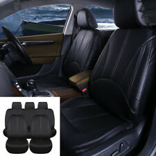 New Luxury PU Leather Car Seat Covers Auto SUV Interior Seat Cushions Front+Rear
