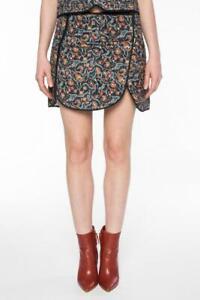 Isabel Marant Floral Quilt Mini Skirt  34  UK 6
