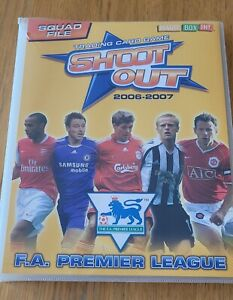 Shoot Out Premier League Trading Cards 2006 2007 265+ Cards