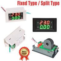 Digital LED 500V Voltmeter, 10A -500A Ammeter, Panel mount volt amp , meter AU