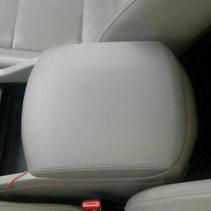Fits 2009-2015 Honda Pilot Leather Center Console Lid Armrest Cover Skin Gray