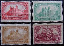 Deutsches Reich Mi A 113-115 (*) ohne Gummi