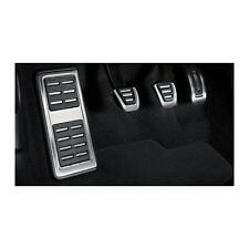 Audi A1 S1 Sportback Fußstütze Pedalkappen Edelstahl Tuning Schaltgetriebe OEM