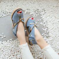 Womens Denim Sandals High Heels Slingbacks Ladies Shoes UK Size 6 EUR 39 Blue