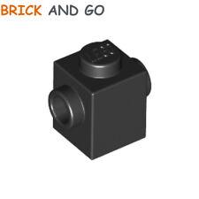 noir, black 6 x LEGO 3062 Brique Ronde Round Brick 1x1 Open Stud NEUF NEW