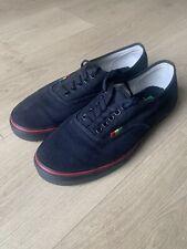 Vans Hemp Black Rasta Red Yellow Green Shoes Size US9.5 Men US11 Women