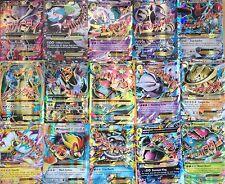 50 Pokemon Cards GUARANTEED MEGA EX + 7 RARE & HOLOS! *MINT* Bulk Lot Bundle TCG