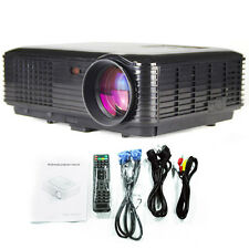 3500lumens,1280*800 Home theater LED Projector,USB,TV, Full HD,3D Projection US
