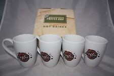 Coffee Spot 4 tlg. Kaffee Set Könitz Porzellan 4 Tassen  300ml + Karton