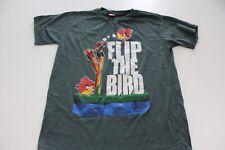 Angry Birds Flip The Bird TEE T SHIRT Humor Small S