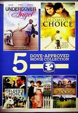 Undercover Angel Solomons Choice Fielders Choice DVD 5 Family Movies