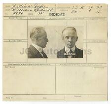 Wanted Sheet - William Dyke - Burglary, Larceny - Menard, IL - 1920