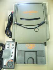 NEC Core Turbo Grafx II SUPER CD ROM 2 Console PC Engine PI-CD1 USA Region Free