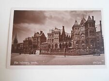 G107 Nostalgic Vintage Postcard THE INFIRMARY LEEDS 560/329 Reliable Series WR&S