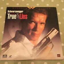 True Lies Laserdisc Widescreen NTSC