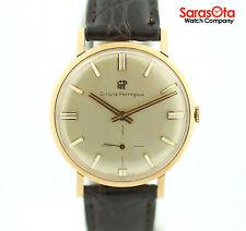 Vintage Girard Perregaux 18K Rose Gold Case Swiss Hand Winding Men's Watch
