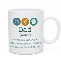 Funny Mug For Dad Daddy Novelty Tea & Coffee Mugs For Daddy Christmas Gift Idea
