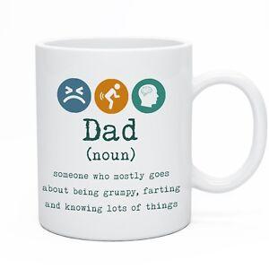 Funny Mug For Dad Daddy Novelty Tea & Coffee Mugs For Daddy Christmas Gift Idea