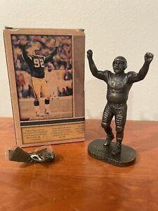 "Reggie White Green Bay Packers Number Retirement 6"" Bronze Figure Commemorative"