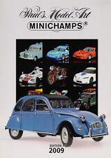 Paul's Model Art Minichamps Model Catalogue all Scales Diecast 2009 - Edition 1