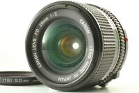 【Exc++++】 Canon New FD NFD 28mm F/2 Wide Angle MF Lens For SLR From JAPAN #1042