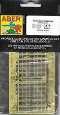 Aber Gate Type A Diorama Brass Photoetch Model Detail Set 1/35 Scale 35D13