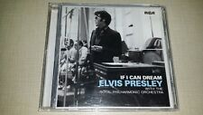 IF I CAN DREAM BY ELVIS PRESLEY ROYAL PHILHARMONIC ORCHESTRA CD 2015 MUSIC ALBUM