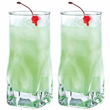 Set of 2 Hi-ball Tumblers 47cl Bar Drinks Party Tall Drinking Glasses Cocktail
