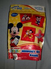 Mickey Mouse Clubhouse Memory Match Game