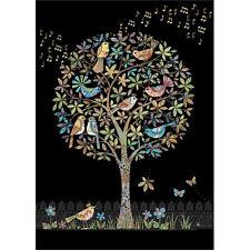 Bug Art greeting card - SONG BIRDS - #BA-M117