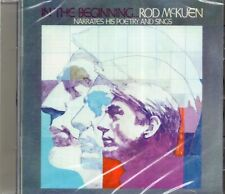 Rod McKuen In The Beginning CD (Anthology Of Early Recordings 1956-1961) New