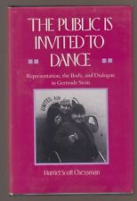 VG 1989 HC DJ 1st ED Public Invited to Dance BIO Gertrude Stein Harriet Chessman