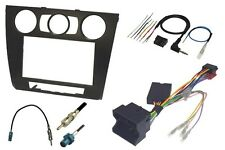 BMW - 1 SERIES (E81&2/E87&8) (2004 to  2010 ) BLACK FULL DOUBLE DIN FITTING KIT